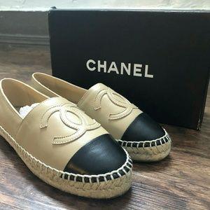 Chanel Espadrilles EU 38 Beige/Black